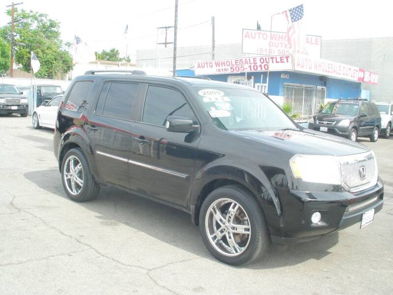 2009 Honda Pilot for sale at AUTO WHOLESALE OUTLET in North Hollywood CA