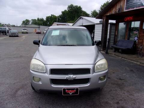 2007 Chevrolet Uplander for sale at LEE AUTO SALES in McAlester OK