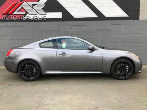 2014 Infiniti Q60 Coupe for sale at Auto Republic Fullerton in Fullerton CA