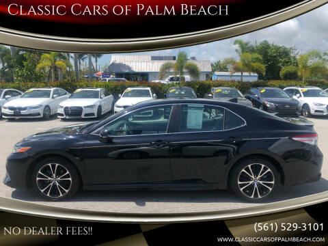 2018 Toyota Camry for sale at Classic Cars of Palm Beach in Jupiter FL