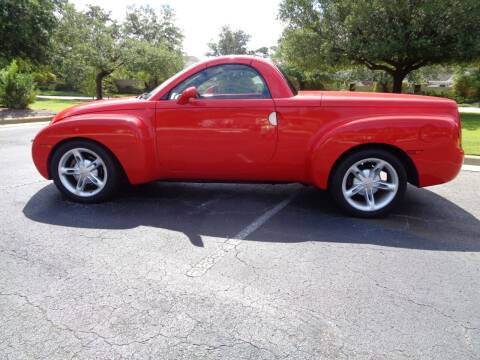 2004 Chevrolet SSR for sale at BALKCUM AUTO INC in Wilmington NC