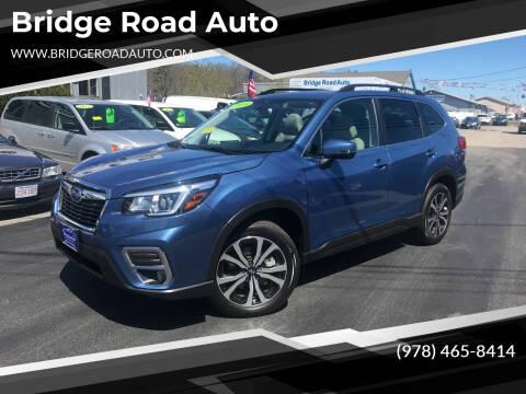 2020 Subaru Forester for sale at Bridge Road Auto in Salisbury MA
