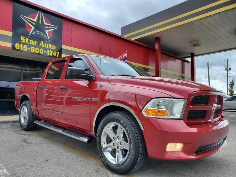 2012 RAM Ram Pickup 1500 for sale at Star Auto Inc. in Murfreesboro TN