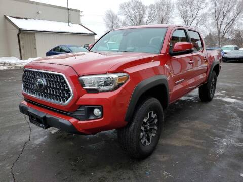 2019 Toyota Tacoma for sale at MIDWEST CAR SEARCH in Fridley MN