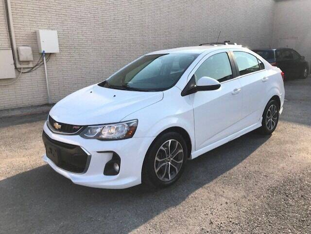 2017 Chevrolet Sonic for sale at Reliable Auto Sales in Plano TX