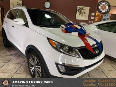 2016 Kia Sportage for sale at Amazing Luxury Cars in Snellville GA