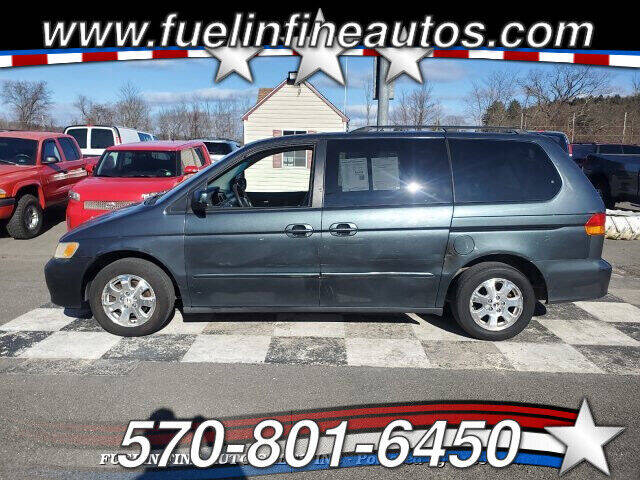 2004 Honda Odyssey for sale at FUELIN FINE AUTO SALES INC in Saylorsburg PA