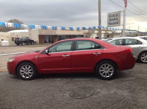 2012 Lincoln MKZ for sale at GIB'S AUTO SALES in Tahlequah OK