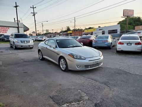 2008 Hyundai Tiburon for sale at Green Ride Inc in Nashville TN