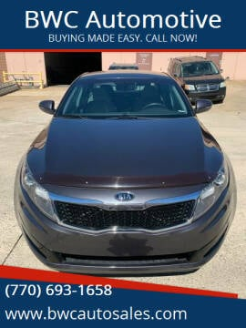 2011 Kia Optima for sale at BWC Automotive in Kennesaw GA