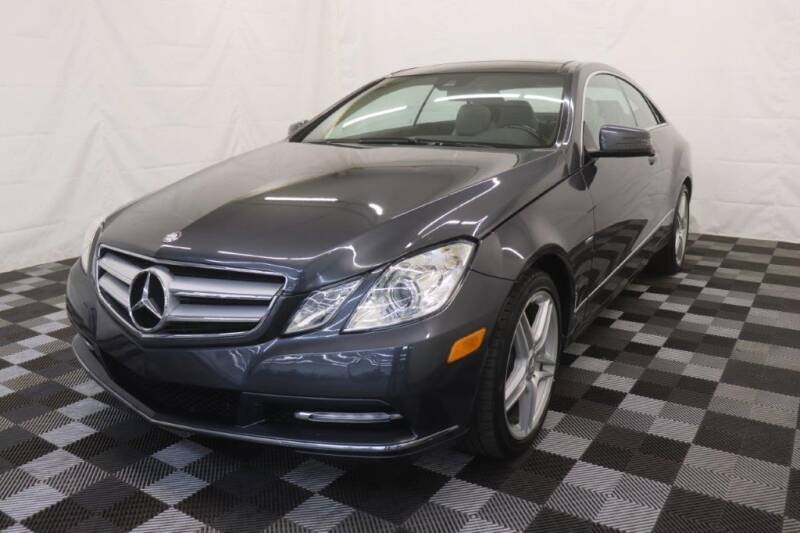 2012 Mercedes-Benz E-Class for sale at AH Ride & Pride Auto Group in Akron OH