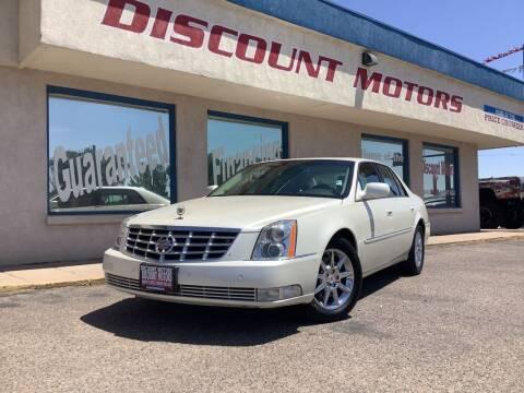 2011 Cadillac DTS for sale at Discount Motors in Pueblo CO