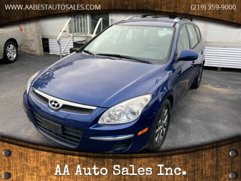 2012 Hyundai Elantra Touring for sale at AA Auto Sales Inc. in Gary IN