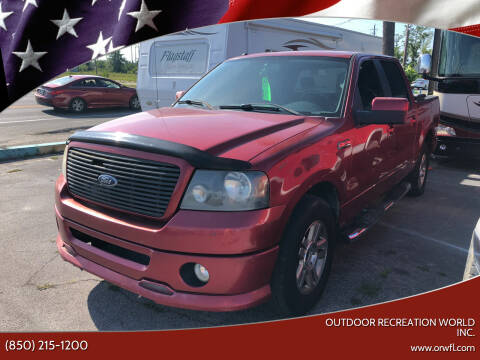 2007 Ford F-150 for sale at Outdoor Recreation World Inc. in Panama City FL