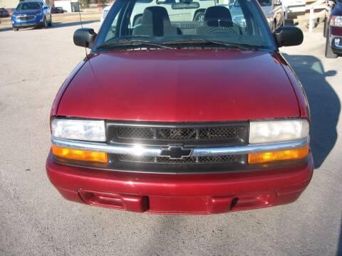 1998 Chevrolet S-10 for sale at Jim Tawney Auto Center Inc in Ottawa KS