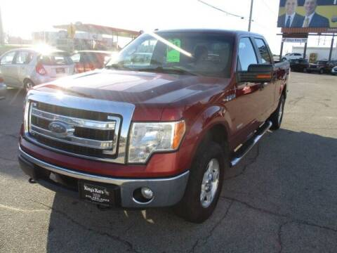 2013 Ford F-150 for sale at King's Kars in Marion IA