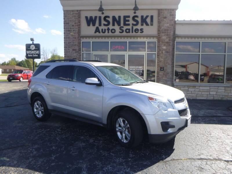 2014 Chevrolet Equinox for sale at Wisneski Auto Sales, Inc. in Green Bay WI