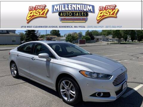 2016 Ford Fusion Energi for sale at Millennium Auto Sales in Kennewick WA