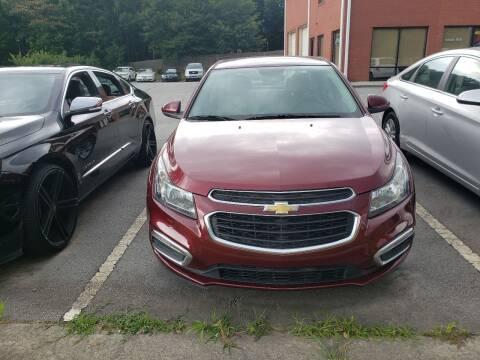 2015 Chevrolet Cruze for sale at Credit Cars LLC in Lawrenceville GA