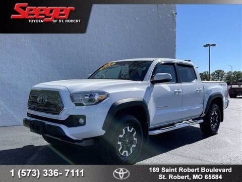 2017 Toyota Tacoma for sale at SEEGER TOYOTA OF ST ROBERT in Saint Robert MO