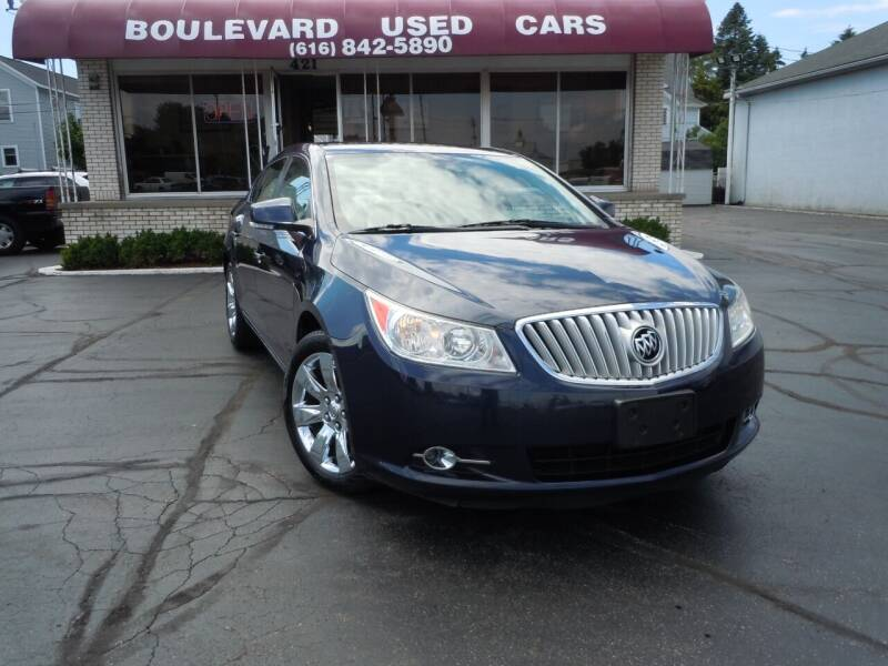 2010 Buick LaCrosse for sale at Boulevard Used Cars in Grand Haven MI