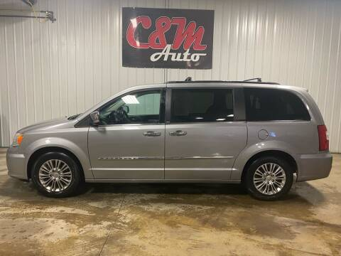 2013 Chrysler Town and Country for sale at C&M Auto in Worthing SD