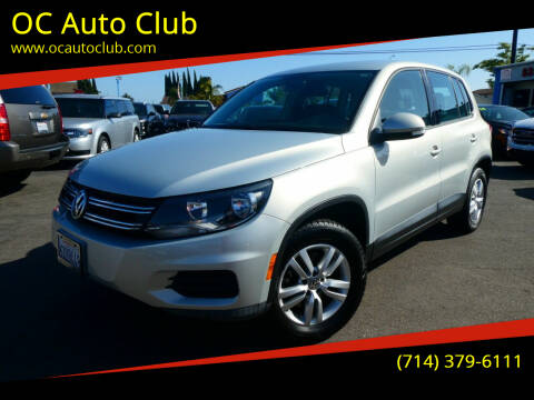 2012 Volkswagen Tiguan for sale at OC Auto Club in Midway City CA
