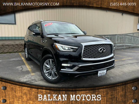 2019 Infiniti QX80 for sale at BALKAN MOTORS in East Rochester NY