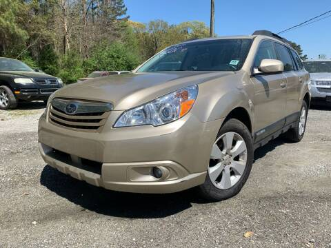 2010 Subaru Outback for sale at ATLANTA AUTO WAY in Duluth GA