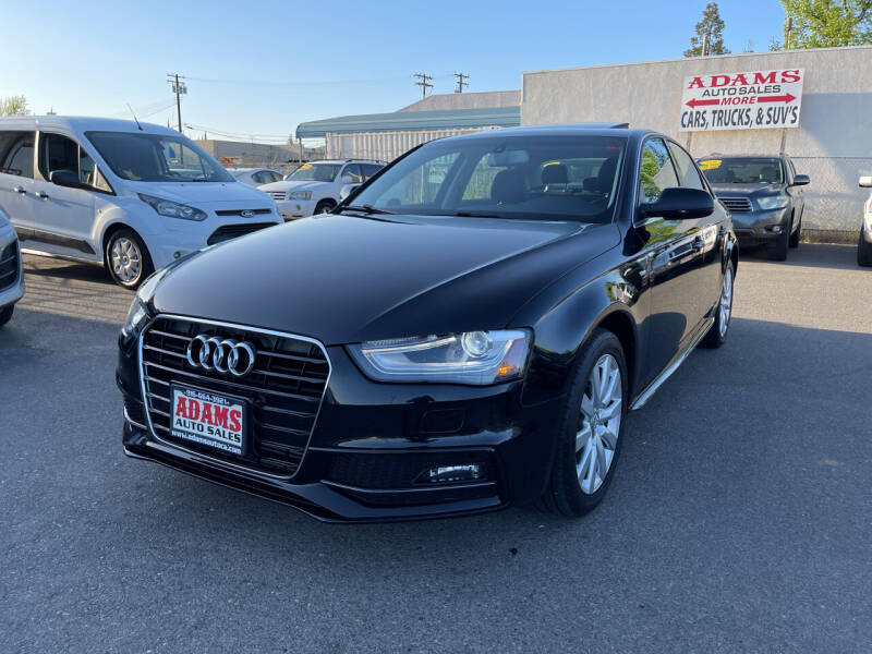2015 Audi A4 for sale at Adams Auto Sales in Sacramento CA