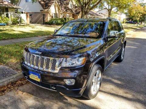 2012 Jeep Grand Cherokee for sale at Amazon Autos in Houston TX