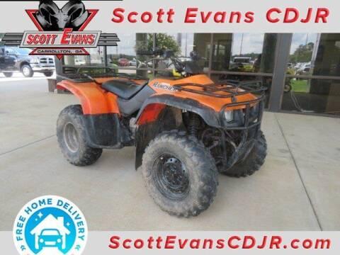 2000 Honda Rancher  for sale at SCOTT EVANS CHRYSLER DODGE in Carrollton GA