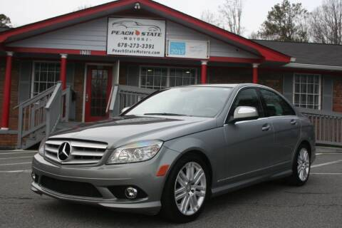 2009 Mercedes-Benz C-Class for sale at Peach State Motors Inc in Acworth GA