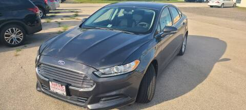 2015 Ford Fusion for sale at Swan Auto in Roscoe IL
