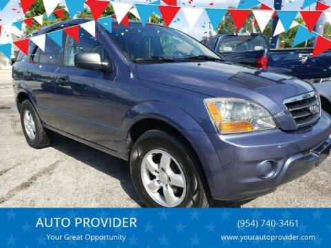 2007 Kia Sorento for sale at AUTO PROVIDER in Fort Lauderdale FL