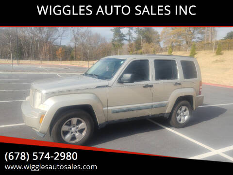 2010 Jeep Liberty for sale at WIGGLES AUTO SALES INC in Mableton GA