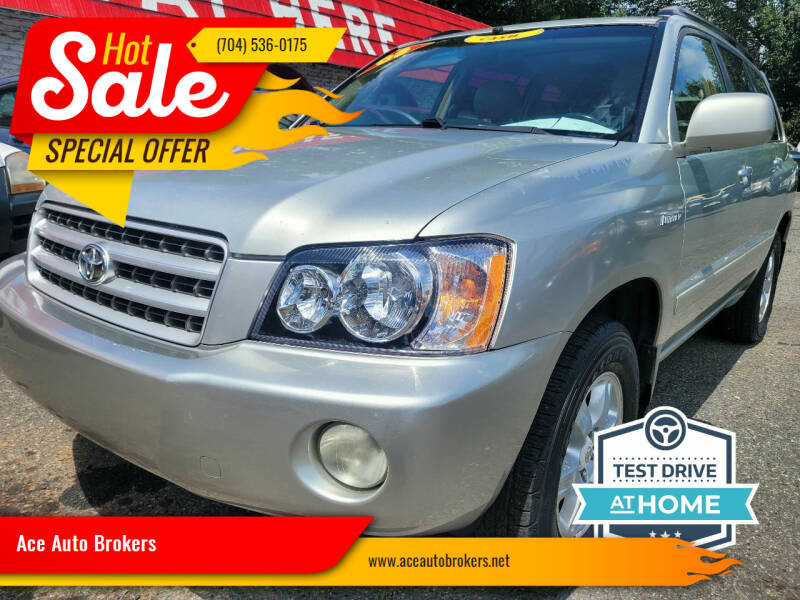 2003 Toyota Highlander for sale at Ace Auto Brokers in Charlotte NC