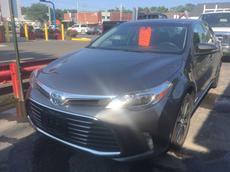 2016 Toyota Avalon Hybrid for sale at MELILLO MOTORS INC in North Haven CT