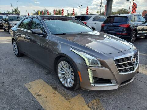 2014 Cadillac CTS for sale at America Auto Wholesale Inc in Miami FL