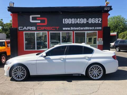2015 BMW 5 Series for sale at Cars Direct in Ontario CA