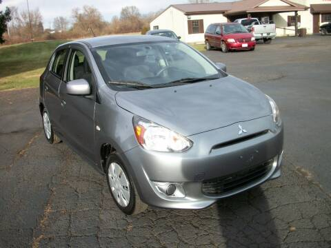 2015 Mitsubishi Mirage for sale at Terry Mowery Chrysler Jeep Dodge in Edison OH