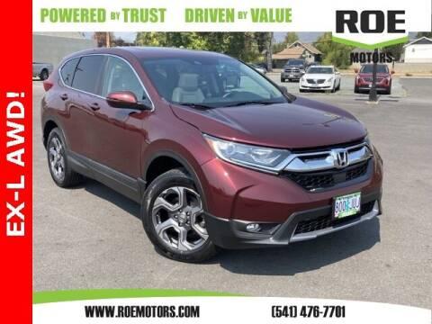 2017 Honda CR-V for sale at Roe Motors in Grants Pass OR