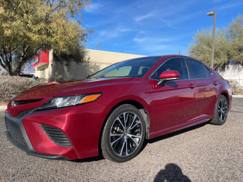 2018 Toyota Camry for sale at Tucson Auto Sales in Tucson AZ