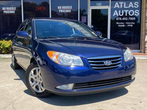2010 Hyundai Elantra for sale at ATLAS AUTOS in Marietta GA