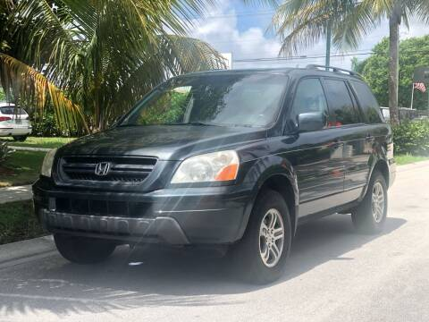 2003 Honda Pilot for sale at L G AUTO SALES in Boynton Beach FL