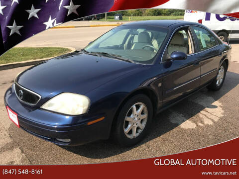2001 Mercury Sable for sale at GLOBAL AUTOMOTIVE in Gages Lake IL