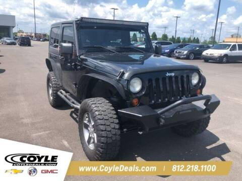 2007 Jeep Wrangler for sale at COYLE GM - COYLE NISSAN - New Inventory in Clarksville IN