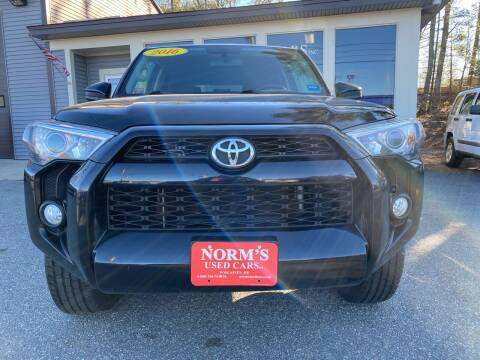 2016 Toyota 4Runner for sale at NORM'S USED CARS INC - Trucks By Norm's in Wiscasset ME