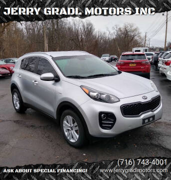 2018 Kia Sportage for sale at JERRY GRADL MOTORS INC in North Tonawanda NY