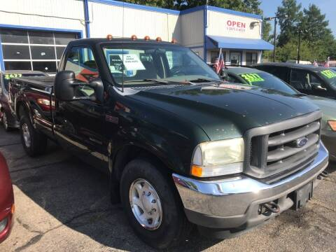 2002 Ford F-250 Super Duty for sale at Klein on Vine in Cincinnati OH